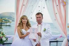 Свадьба в Крыму на берегу моря цены, отзывы. Ведущий на церемонию Крым, море