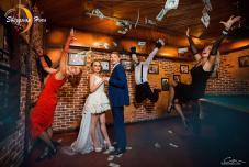 Гангстерская свадьба, нестандартная свадьба, гангстерская выездная регистрация