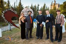 Гангстерская свадьба Необычная свадьба, нестандартная свадьба. В стиле гангста