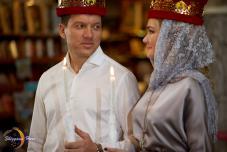 Фото Венчание в Крыму. Организация венчания в Крыму. Форосский храм, Херсонес