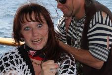 Посвящение в пираты, Пиратская свадьба, свадьба в Крыму