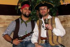 Пиратская свадьба, свадьба в Крыму, пиратская регистрация брака