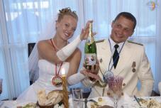Настоящая морская семья! Морская свадьба