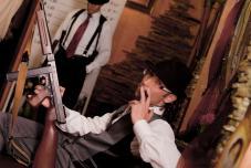 Гангстерская  свадьба, нестандартная свадьба, оригинальная выездная регистрация