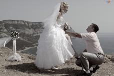 Ретро свадьба. Тематические свадьбы. Необычная свадьба. Крым