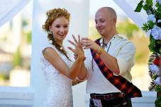 Шотландская свадьба. Тематические свадьбы. Необычная свадьба. Крым