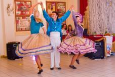 Кан-кан, Monsieur !  шоу-программа, свадьба Крым, Ялта шоу, тамада на свадьбу