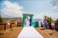 Символическая церемония. Крым. Церемония у моря.регистрация брака в Крыму